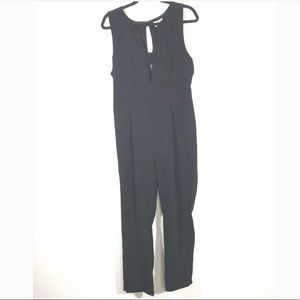 Sienna Sky Size Large Black Jumpsuit Sleeveless